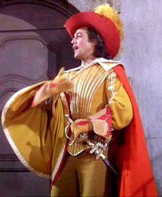 Gene Kelly in THE THREE MUSKETEERS (1948) Costume design: Walter Plunkett