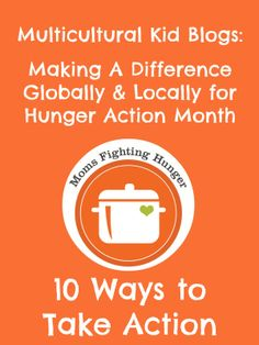Making a Difference Globally and Locally for Hunger Action Month {The Good Long Road}