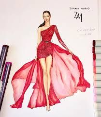 Image result for zuhair murad illustrations