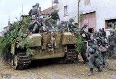 The Battle of Arracourt, Lorraine, France, between 18–29 September 1944