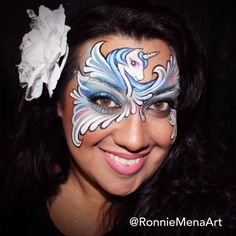 Ronnie Mena is coming to Australia to teach his distinctive face painting style in April and May 2015. Click for more info