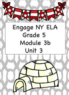 I have taken the student work pages from the module and made them more kid-friendly and teacher-friendly. This module includes all of the student work pages.