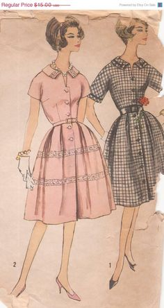 Holiday SALE 20% Off Vintage 1950s Misses' and by patternpalooza