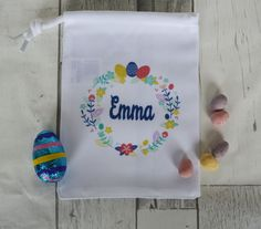 Personalised easter egg hunt bags available now easter personalised easter egg hunt bags available now easter pinterest easter negle Image collections