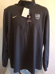 Olympics 27291: Nwotnike Men S United States Olympic Team Small Sweatshirt  Blue Official Product -> BUY IT NOW ONLY: $72 on eBay!