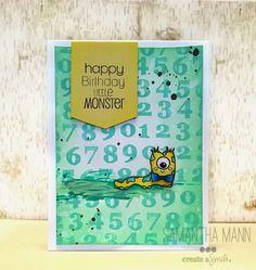 Create a smile Stamps: Big Time, 29 again DT member: Samantha Mann