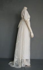 Regency Wedding Dress, Wedding Dresses, Unique, Lace, Fabric, Clothes, Fashion, Tejido, Tall Clothing
