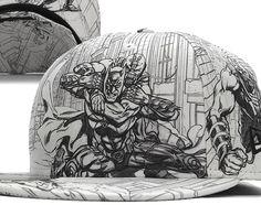 """DC Comics und New Era haben für """"The Dark Knight Rises"""" eine spezielle Cap Collection entworfen, die sich mit dem Superschurken Bane befasst. Fünf Caps umfasst die Collection: zwei 59Fifty Caps und drei 9Fifty Snapback Caps. Alle Infos und Bilder dazu gibts im Numelo.com Blog: http://www.numelo.com/blog/2012/08/10/dc-comics-new-era-dark-knight-rises"""