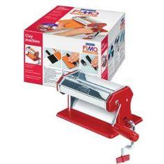 FIMO Clay Machine: Amazon.co.uk: Kitchen & Home     WANT!!!