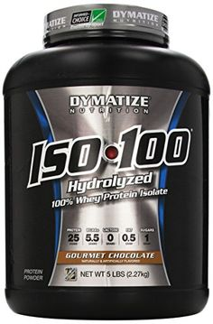 Dymatize ISO100 derives its name from its protein source 100% Whey Protein Isolate. Unless you are in the medical profession you have probably never seen protein like this before.Most companies 'cla...