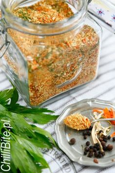 ChilliBite.pl - motywuje do gotowania!: Mieszanka suszonych warzyw - domowa vegeta
