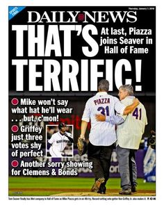 Back page of the New York Daily News for January 7 e998180fe