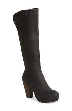 Steve Madden 'Rackey' Leather Platform Boot (Women) available at #Nordstrom