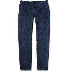 GucciSlim-Fit Cotton-Blend Corduroy Trousers