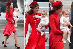 Amazing red coat!