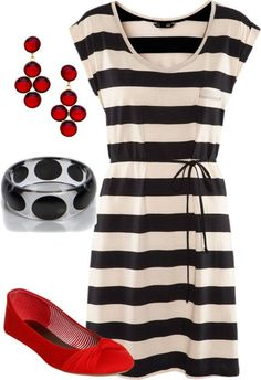 25 Great-Looking Casual Summer Dresses - Summer Outfits Ideas - Styles Weekly Polyvore Outfits, Polyvore Fashion, Casual Summer Dresses, Casual Outfits, Pretty Outfits, Cute Outfits, Outfit Trends, Mom Style, Get Dressed
