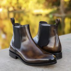 Ready in 1 week. Brogues, Loafers Men, American Eagle Outfitters, Streetwear, Shoe Boots, Shoes Heels, Leather Chelsea Boots, Goodyear Welt, Dream Shoes