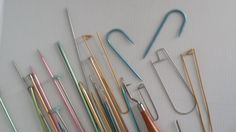 lot of knitting needles hooks and tools  vintage by GTDesigns