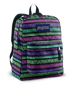 Tribal Jansport backpack. I love me some Jansport!