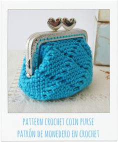 PATTERN Crochet Coin Purse {Model nº 17} di PitusasyPetetes su Etsy https://www.etsy.com/it/listing/187364082/pattern-crochet-coin-purse-model-n-17