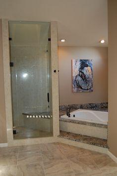 "Blue ""after"" photos. Master Bath"