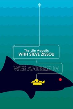 Revisited Wes Anderson's Movie Posters