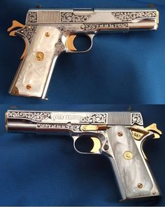 Custom Colt 1911 (1911s make me weak in the knees).