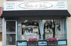 Antique Store / Canada Petits et Jolis, Oakville Ontario Oakville Ontario, Antique Stores, Furniture Stores, Canada, Spaces, Antiques, Business, Travel, Shopping