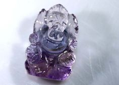 12.60CTS AMETRINE CARVING-INDIAN LORD GANESH LT-315  AMETRINE GEMSTONE CARVING, GEMSTONE CARVING FROM GEMROCKAUCTIONS