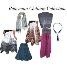 """""""Bohemian Clothing Collection"""" by mogulinteriordesigns on Polyvore"""
