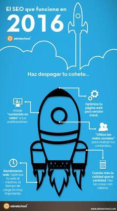 El SEO que funciona en 2016. Infografía en español. #CommunityManager