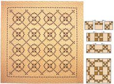 Burgoyne Surrounded quilt