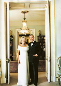 lineofsuccession: Duchess of Cornwall and Prince of Wales