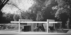 Mies Van Der Rohe - Triangle Modernist Houses - America's Largest Archive of Residential Modernist Design