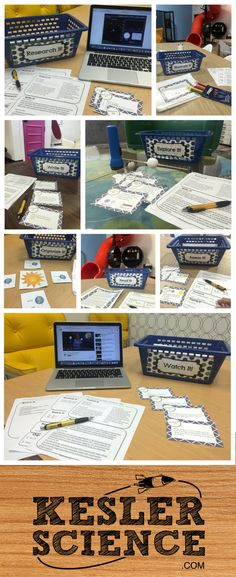 68 Differentiated Science Station Labs - Take your students to the next level. Allow them to lead their own learning through these plug and play station labs covering concepts from space, energy, chemistry, ecosystems, structure of life, earth science, force and motion, and weather.  Each lab has 8 different stations which will address the learning styles of every student in your classroom.  Simply print them out and let your students begin to learn science with this highly engaging format.