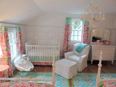 See this beautiful Lilly Pulitzer themed nursery on Threads.