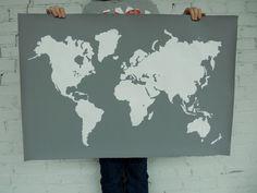 World map outline #map boy-room-inspiration