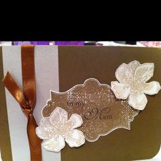 Mothers day card Stampin up!