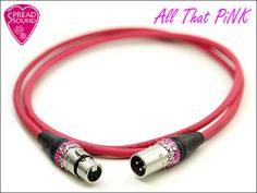 All That PiNK BELDEN 8412 / SPREAD SOUND XLR Cable
