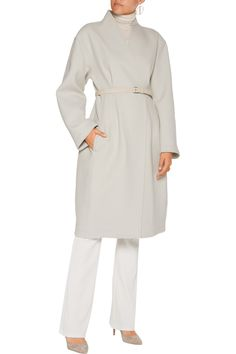 Shop on-sale Donna Karan New York Double-breasted wool-blend coat. Browse other discount designer Coats & more on The Most Fashionable Fashion Outlet, THE OUTNET.COM