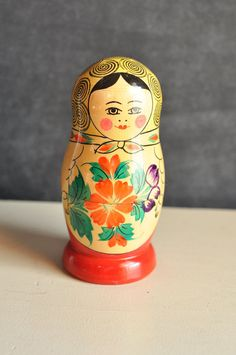 Matryoshka; I used to have one of these and loved it.  I wonder what happened to it lol