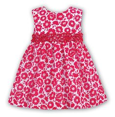 ba0a4a481 New in from Little Whispers. Lovely Red and White Baby Girl Dress from Sarah  Louise.