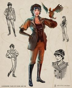 Clothing suitable for a lady detective, a brave adventurer and an elegant steampunk dame in one is a real challenge. However, in the face of the dramatic events that took place in Hochwald, we decided that comfortable leather attire will prove to be the best choice.   #artifexmundi #fashion #character #adventure  http://www.artifexmundi.com/