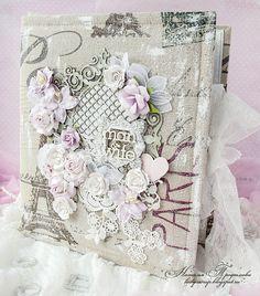 LADY-SCRAP: Свадебный альбом - французская романтика и порхающ...