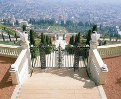 Haifa: Bahai Shrine, the German Colony and the port