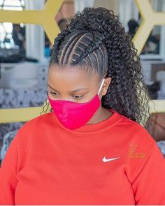Cornrows Updo, Braided Hairstyles For Black Women Cornrows, African Braids Hairstyles, Braids For Black Hair, Black Women Hairstyles, Natural Cornrow Hairstyles, Natural Braid Styles, Natural Hair Updo, Curly Hair Styles