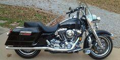 2006 Harley Davidson Road King, Price:$9,500. Smithfield, Virginia #harleydavidsons #harleys #roadking #motorcycles #hd4sale