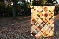 https://flic.kr/p/dK9xcQ | Hannah's Garden Quilted | Read about this quilt