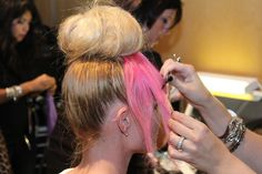 This is how we do it! #NYFW #Hair