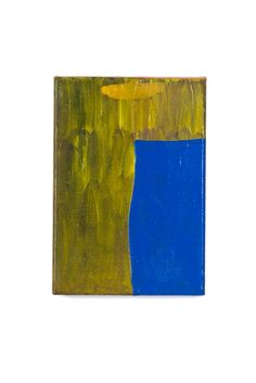 Blue Room 003, 5.8 x 23.1.5cm, acrylic on fabric, 2014© Yunji Jang